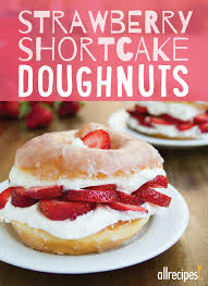 substitute a glazed doughnut for shortcake in this quick and easy