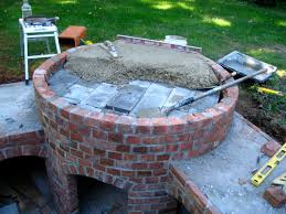 How To Make An Outdoor Bathroom Dominick U0027s Pizza Oven Forno Bravo Forum The Wood Fired Oven
