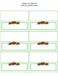 free printable christmas table place cards template brokeasshome com