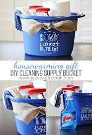 cleaning ideas diy gifts ideas diy vinyl cleaning bucket housewarming gift idea