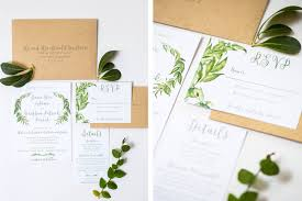 wedding invitations greenery what not to include on wedding invitations oh my designs by steph