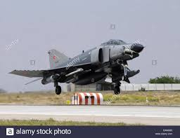 a turkish air force f 4e 2020 terminator taking off from konya air