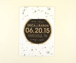 save the date coasters ink splatter cork coaster save the date 5 7 card with envelope