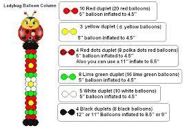 ladybug balloon wall