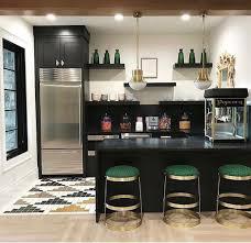 modern art deco inspired home theater handmade tile by mercury