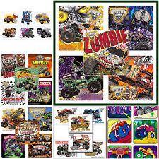 monster jam birthday supplies ebay