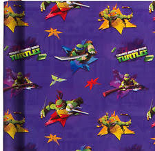 tmnt wrapping paper any occasion paper roll wrapping paper ebay