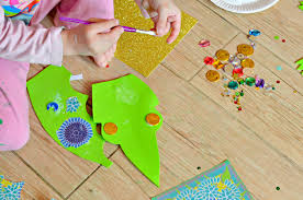 dragon craft idea for kids bostikblogger life with pink princesses