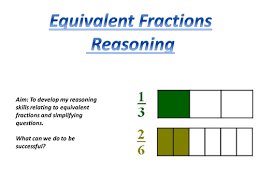 equivalent fractions challenge by tonycarter45 teaching
