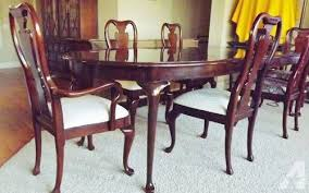 cherry dining room thomasville collectors cherry dining room for sale in lincoln