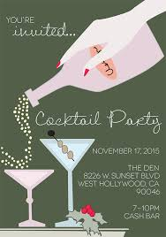 Cocktail Party Invite - prettyhautemess holiday cocktail party invite