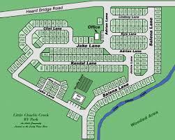 Sebring Florida Map by Little Charlie Creek Rv Park