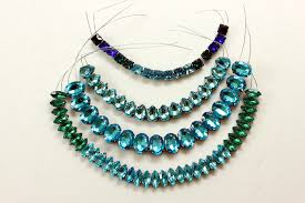 necklace rhinestone images Statement necklace tutorial diy rhinestone necklace jpg