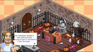 pewdiepie u0027s tuber simulator halloween update making the scariest
