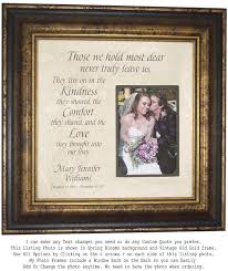 remembrance picture frame memorial gift in memory of personalized memorial frame