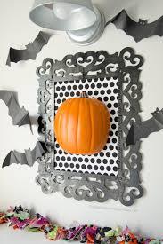 craftaholics anonymous framed pumpkin halloween decor tutorial