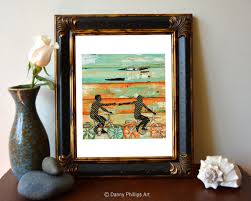 valentines day bicycle couple beach art print or canvas bike