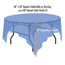 can you put a rectangle tablecloth on a round table tablecloth rentals linen sizing chart