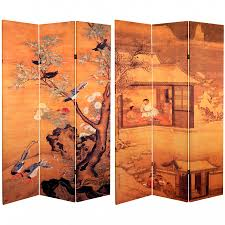 6 ft tall chinese landscapes canvas room divider roomdividers com