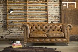 chesterfield sofa in living room saint james chesterfield sofa vintage leather finish pib