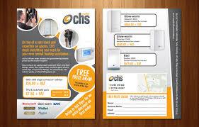 flyer design chs heating supplies flyer design and print