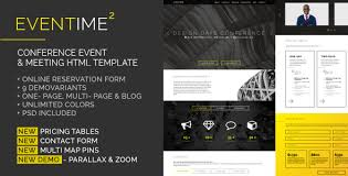eventime conference event u0026 meeting html template by tchaikovsky