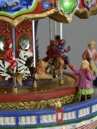 illuminated animated musical carousel gift shop