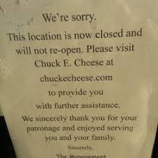 chuck e cheese closed american new 20 backus ave danbury