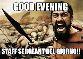 First Sergeant Meme - 20 most funniest good evening meme images and pictures funnyexpo