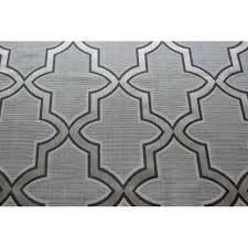 pearl grey trellis pattern curtain fabric upholstery fabric