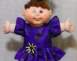 Halloween Costumes Girls Size 14 16 Cabbage Patch Etsy