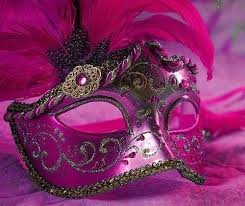 pink masquerade masks image about pink in for my quinces lt 3 by h