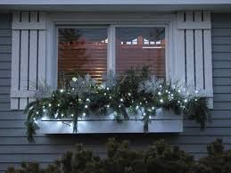 Window Box Decorations For Christmas Outdoor by Best 25 Christmas Window Boxes Ideas On Pinterest Winter Window