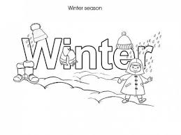 free winter coloring pages kindergarten dessincoloriage