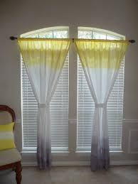 Yellow Patterned Curtains Curtain Ideas Yellow And Blue Curtains Blue Sheer Curtains