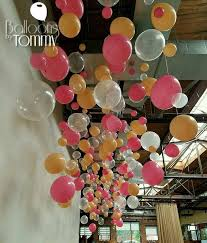 Balloon Ceiling Decor 621 Best Balloon Ceilings Images On Pinterest Ceilings Balloons
