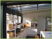 cuisine sous veranda véranda cuisine faites entrer le soleil les clés de la maison