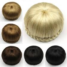 bun clip aliexpress buy braided clip in hair bun hair chignon donut