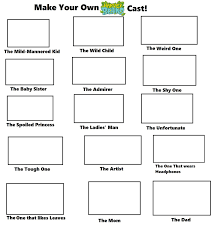 Meme Your Own Photo - make your own harvey beaks cast meme by yukisatash01 on deviantart