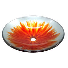 eden bath true planet glass vessel sink in multi colors eb gs17