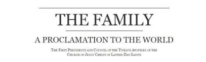 family proclamation 20th anniversary of lds family proclamation lds media talk new