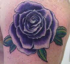 for unique anthony croteau tattoos purple rose tattoo