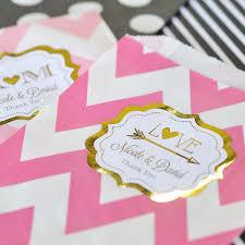 picture frame wedding favors personalized metallic foil bracket frame wedding favor stickers