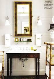 English Country Bathroom Beadboard Bathroom Vanity Design Ideas
