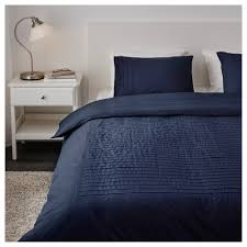navy duvet cover queen alvine strÅ and pillowcase s full double 3