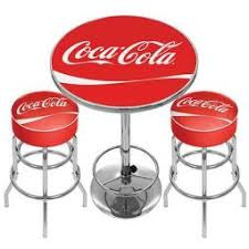 coca cola table and chairs furniture coca cola collectibles
