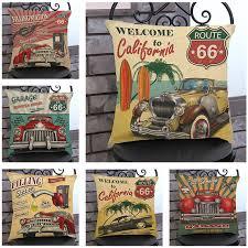 canap voiture vintage voiture housse de coussin coussin décoratif covers canapé