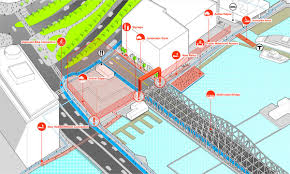Boston Harborwalk Map by Downtown Boston Waterfront Planning U2013 Utile Architecture U0026 Planning