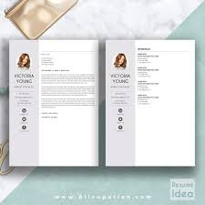 Resume Cover Sheet Template Word Creative Resume Template Modern Cv Template Word Cover Letter