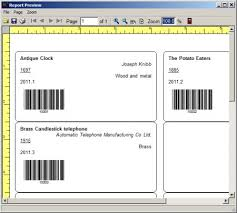 museum inventory software print museum tag labels item cards